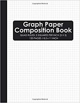 graph paper composition book squared graphing paper quad ruled 5