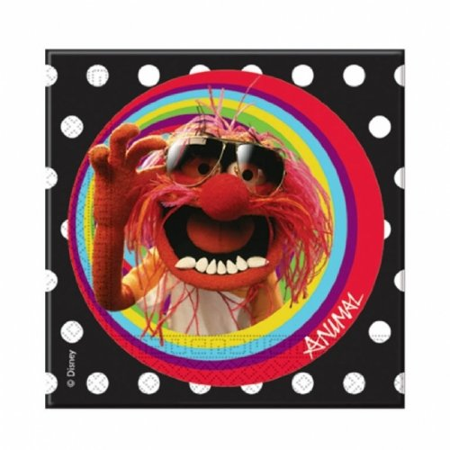 The Muppets Party -Muppets Party Napkins x 20