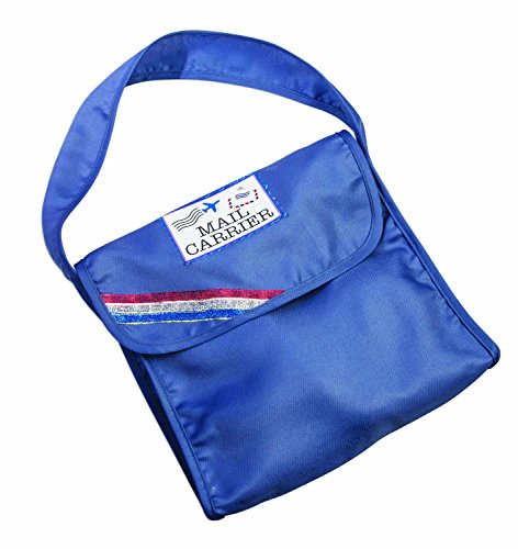 Forum Novelties 80899 Unisex-Adults Child Mail Carrier Bag, Blue, Standard, Multicolor]()