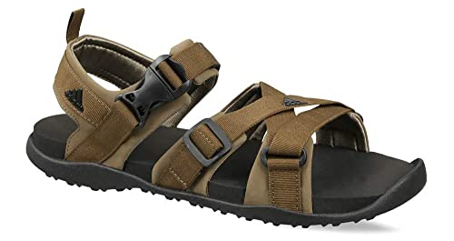 863ac6c51e27 Adidas Men s Gladi Traoli Cblack Clay Sandals-7 UK India (40 2 3 EU ...