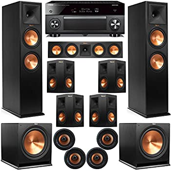 Amazon Com Klipsch 11 2 Dolby Atmos Home Theater System