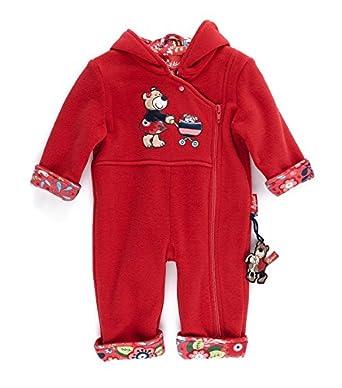 e6014df7656c Sigikid Baby Girls Fleece Overall