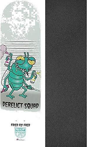 かわいい! Shut Skateboards Steve Nazar 2点セット Fried Skateboards Fly Fred スケートボードデッキ - - 8.25インチ x 32インチ モブグリップ穴あきグリップテープ - 2点セット B07G57Q2S7, ウォータープロショップ:7b4b4a99 --- xn--paiius-k2a.lt