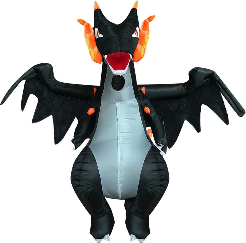 LXYDress Disfraces Dragón Spitfire Navidad Inflable Fiestas de ...