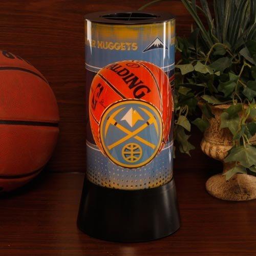 - WinCraft NBA 2540113 Denver Nuggets Rotating Lamp, 12