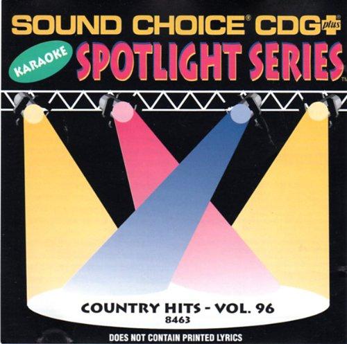 Sound Choice CDG Plus Karaoke Vol. 96-Country ()