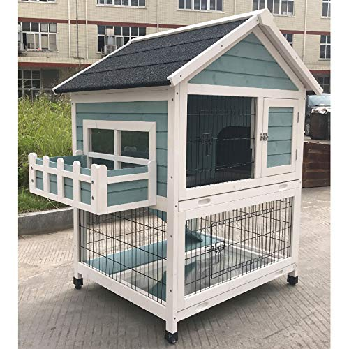 Used, Flyline Garden Window Rabbit Hutch Bunny Cage Guinea for sale  Delivered anywhere in USA