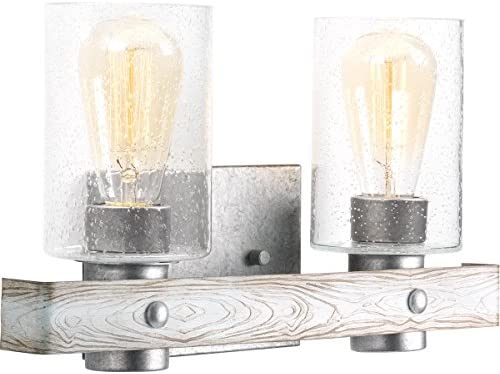 Progress Lighting P300124-141 Gulliver Two-Light Bath, Grey