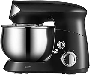 YL Hand Mixer Whisk 3.5L Desktop Eggbeater Electric Home Use Mini Baking High Power Cream Stir Kneading Machine Chef Machine