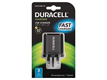 Duracell DRACUSB6-UK - Cargador (Interior, Corriente alterna ...