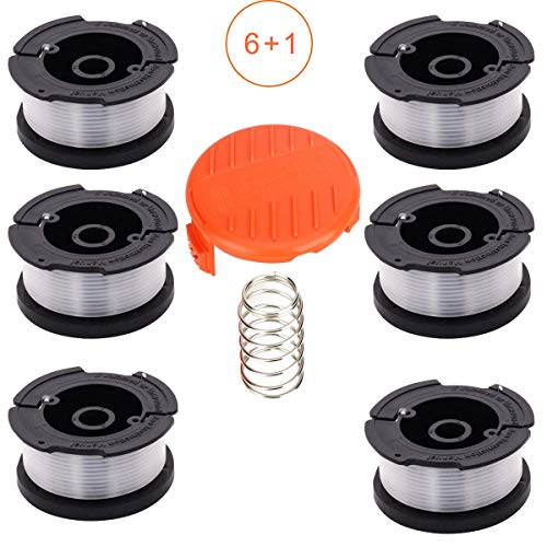 - String Trimmer Replacement Spool Line Compatible with Black and Decker Weed Eater AF-100, 30ft 0.065