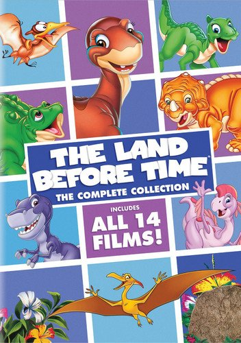 《The Land Before Time 小脚板走天涯》 14部电影合集