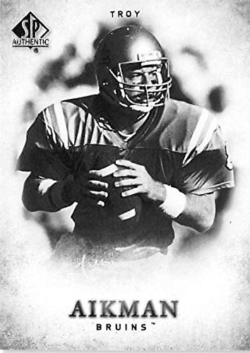 Troy Foot Spa - Troy Aikman football card (University of UCLA Bruins) 2012 Upper Deck SPA #134