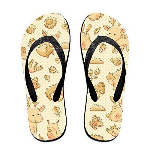 Unisex Summer Animals World Beach Slippers Home Sandal Flip-Flop Flat Thong Sandal Home Shoes Parent B07B9WZ13L 580e97