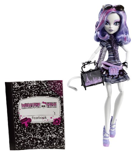 Monster High Travel Catrine DeMew Scaris City of Frights Exclusive -