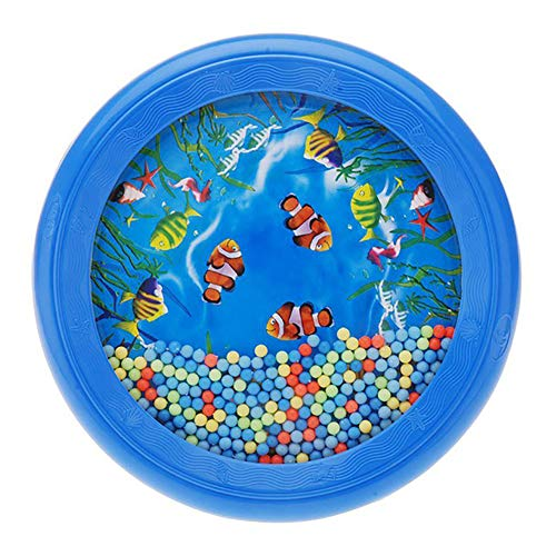 Connoworld Baby Musical Instrument Baby Kids Early Music Education Ocean Wave Drum Percussion Instrument Puzzle Toy