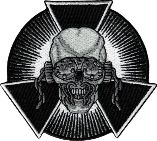 89080 Skull Burst Megadeth Iron Sew On Patch Sunglasses and Biohazard Logo Metalfor Accessories - Bags/Purses, Apparel - Coat/Jacket, Apparel - Jeans/Pants, Children, Crafts by - Sunglass Logos Company