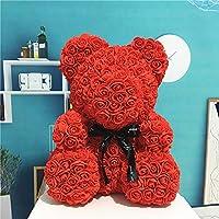 Delidraw Rose Fleur Amour Ours décoration de la Mariage mariée Anniversaire Cadeaux de Saint Valentin