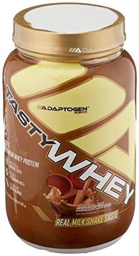 Peanut Butter Block - Adaptogen Science Tasty Whey, Chocolate Peanut Butter, 2 Pound