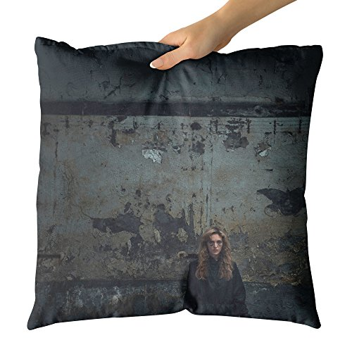 Westlake Art Decorative Throw Pillow - Performer Halloween - Photography Home Decor Living Room - (Happy Halloween Sms)