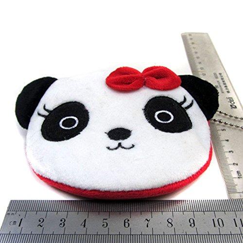 2Pcs Lot de Mignon Coton Doitsa Mini monnaie Panda Porte Portefeuilles de Fille Tissu BEnnwCdHq