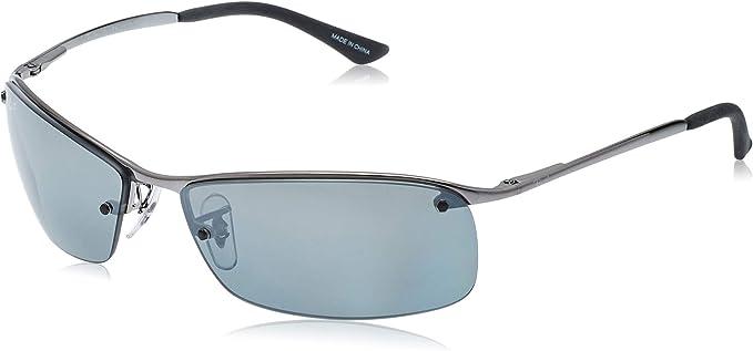 Ray-Ban RB 3183 Gafas de sol, Gunmetal, 64 para Hombre: Amazon.es ...