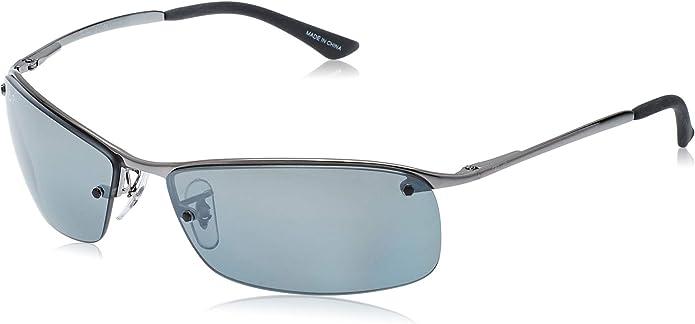 Ray-Ban Men's Rectangular Metal Sunglasses