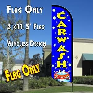 Amazon Car Wash Flags