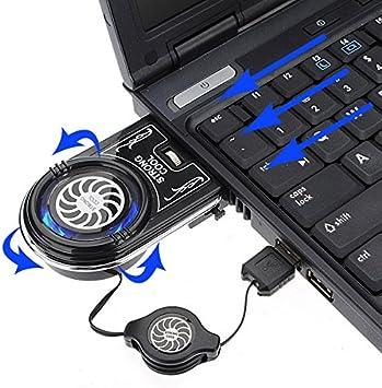 SAWAKE Mini aspirador con LED azul USB de extracción de aire ...
