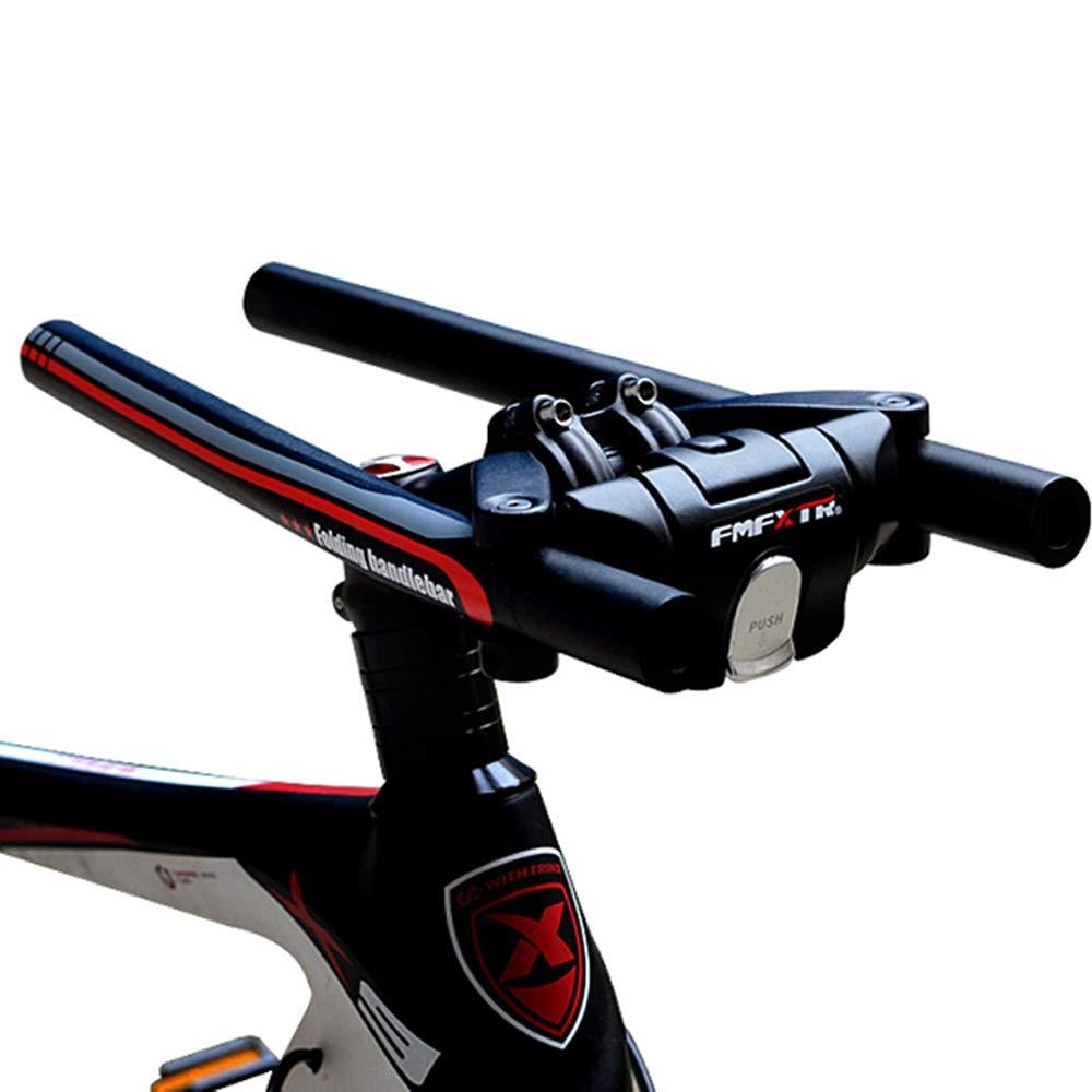 FMFXTR Manillar de aleación de Aluminio Plegable para Bicicleta ...