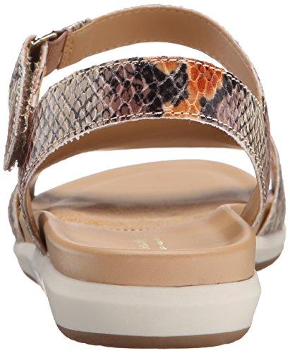 Naturalizer Flat Sandal Women's Tan Selma p8xpn0f1