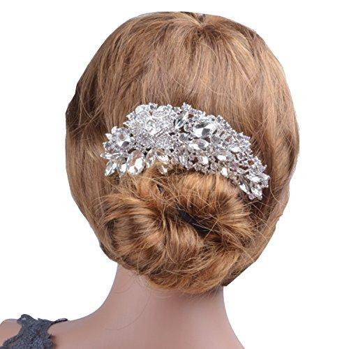 Lakistar Wedding Hair Comb Accessory Bridal Headpiece Fashion Jewelry for Women