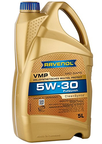 RAVENOL J1A1520 VMP 5W-30 Fully Synthetic Motor Oil (5 Liter)