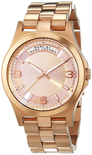 Marc Jacobs Women's Watch Analogue Quartz Stainless Steel MBM3232 (Gold Marc Jacobs)