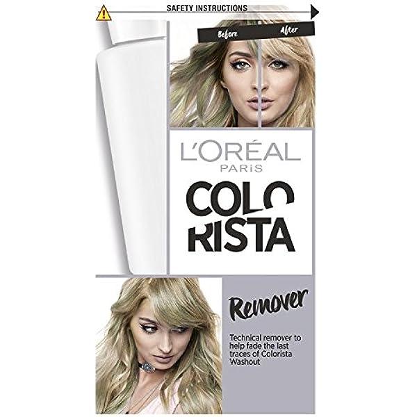 L Oreal colorista color del pelo y Dye Remover: Amazon.es ...