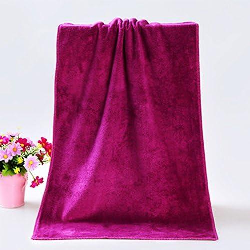5 75 cmVino e Rosso QLING Asciugamano da Bagno Spessa Asciugamano da Bagno Super Assorbente ad Asciugatura Rapida in Microfibra Spessa Asciugamano per Capelli Caldo