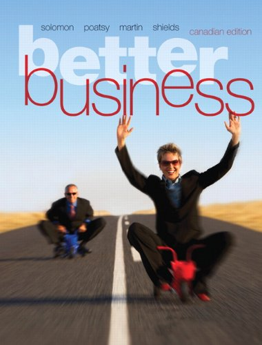 Better Business, First Canadian Edition with MyBusinessLab