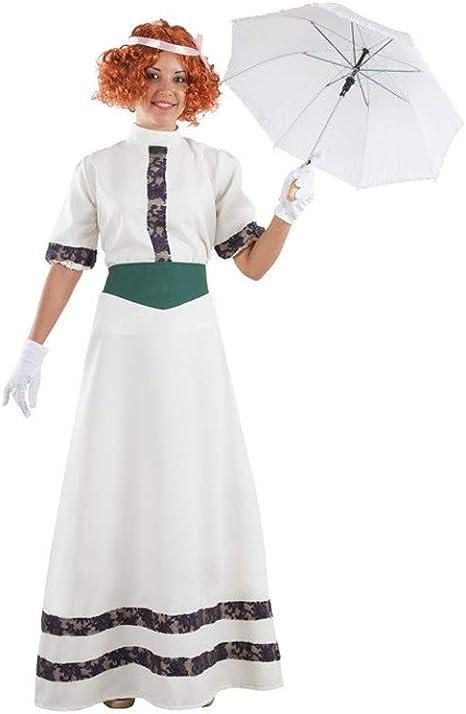DISBACANAL Disfraz de Belle Époque para Mujer - -, L: Amazon.es ...