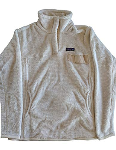 Patagonia Women's Re-Tool Snap-T  Pullover Raw Linen/White Crossdye Small ()