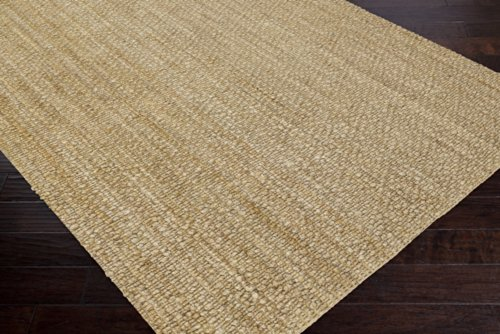 Surya Caramel (Country Living by Surya Country Jutes CTJ-2001 Natural Fiber Hand Woven 100% Jute Caramel 5' x 8' Area)