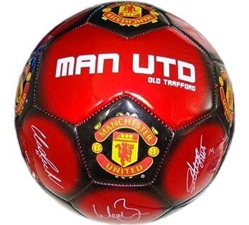 Hy-Pro - Balón de fútbol del Manchester United F.C. (talla 5, 2010 ...