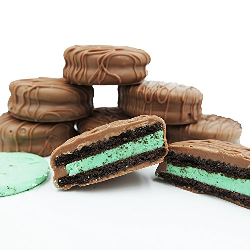 Philadelphia Candies Milk Chocolate Covered Mint Creme OREO Cookies, 8 Ounce
