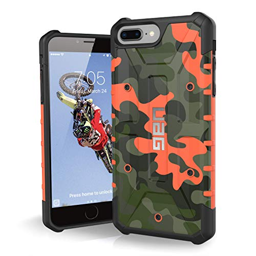 (UAG iPhone 8 Plus/iPhone 7 Plus/iPhone 6s Plus [5.5-inch Screen] Pathfinder SE Camo Feather-Light Rugged [Hunter] Military Drop Tested iPhone)