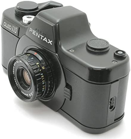 Pentax Auto 110 + Asahi Optical 24mm F2.8 Camara réflex analógica ...