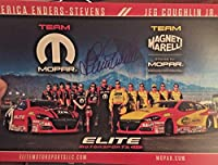 ERICA ENDERS -Stevens Signed Autograph NHRA PRO STOCK CAR Hero Card 2016 - Autographed NASCAR Cards by Sports Memorabilia
