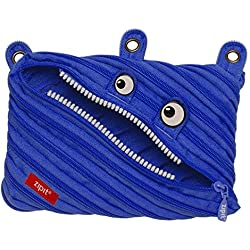 ZIPIT Monster 3-Ring Pencil Case, Royal Blue
