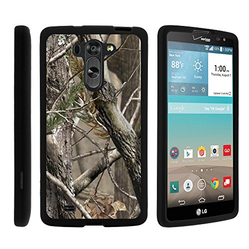 LG G Vista Phone Case, Perfect Fit Cell Phone Case Hard Cover with Cute Design Patterns for LG G Vista D631, LG G Pro 2 VS880 by MINITURTLE - Nature's Camouflage