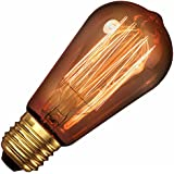 AVIVO Suspension/luminaire rustique ST58 E27 40 W 240 V Transparent LL Goldline verre Calex Lampe à incandescence