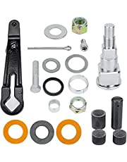 Gimbal Steering Arm Shaft Pin, Fit Replacement for MerCruiser Bravo and Alpha One Gen 2, Gimbal Housing Steering Arm Swivel Shaft Pin Seal Bushing Nut Kit Replace 98230A1, 866322A01, 866718A01