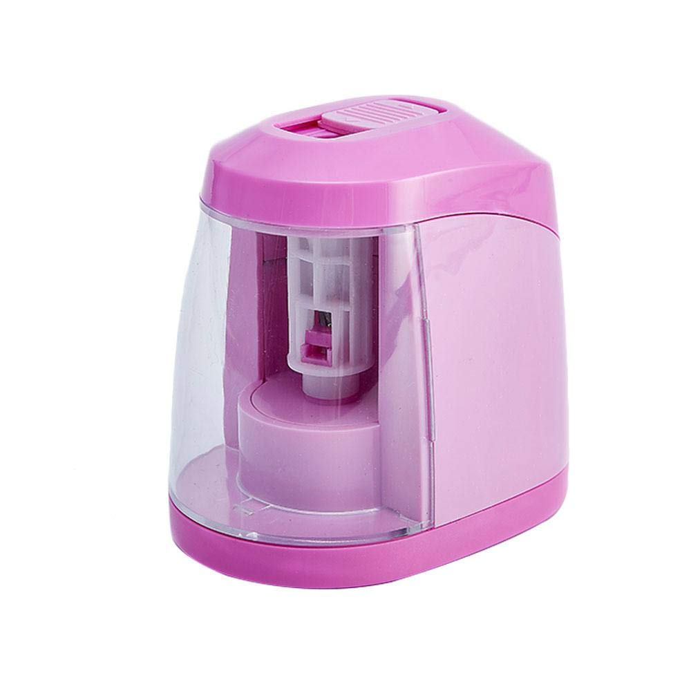Electric Pencil Sharpener, Aolvo USB Auto-Stop Feature and Heavy Duty Helical Blade Pencil Sharpeners Battery Operated, High-Speed Automatic, for Office/School Classroom/Home Kids, Artists